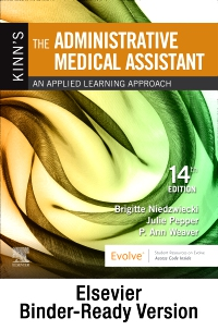 cover image - Kinn's The Administrative Medical Assistant - Binder Ready,14th Edition