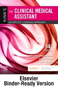 cover image - Kinn's The Clinical Medical Assistant - Binder Ready,14th Edition