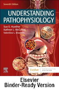 cover image - Understanding Pathophysiology - Binder Ready,7th Edition