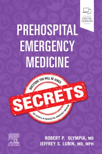 cover image - Prehospital Emergency Medicine Secrets, Elsevier E-Book on VitalSource