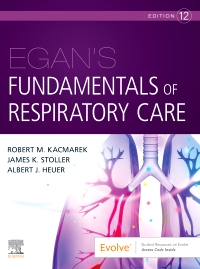 cover image - Evolve Resources for Egan's Fundamentals of Respiratory Care,12th Edition