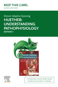 cover image - Elsevier Adaptive Quizzing for Understanding Pathophysiology (Access Card),7th Edition