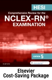 cover image - HESI/NCLEX Student Preparation Package for RN: Print and Online Review 2e Retail Card,5th Edition