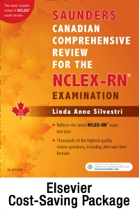 cover image - HESI/NCLEX Canadian Student Preparation Package for RN: eBook on VitalSource and Online Review 2e Retail Card