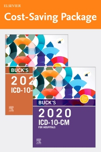 cover image - Buck's 2020 ICD-10-CM Hospital Edition and Buck's 2020 ICD-10-PCS Edition Package