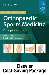 cover image - DeLee, Drez and Miller's Orthopaedic Sports Medicine Recall - Individual Direct Customers Package,5th Edition