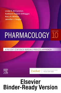 cover image - Pharmacology - Binder Ready,10th Edition