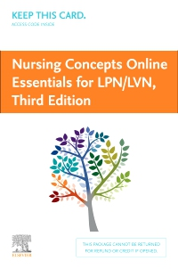 cover image - Nursing Concepts Online Essentials for LPN/LVN (Access Card),3rd Edition