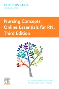 cover image - Nursing Concepts Online Essentials for RN (Access Card),3rd Edition