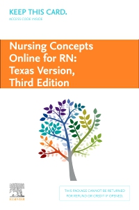 cover image - Nursing Concepts Online for RN: Texas Version - Classic Version,3rd Edition