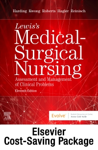 cover image - Medical-Surgical Nursing - Single-Volume Text and Study Guide Package,11th Edition