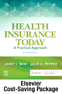 cover image - Beik Health Insurance Today pkg – TXT, WB, SCMO21,7th Edition