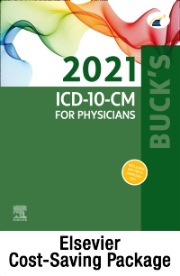 cover image - Buck's 2021 ICD-10-CM Physician Edition, 2021 HCPCS Professional Edition & AMA 2021 CPT Professional Edition Package