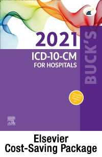 cover image - Buck's 2021 ICD-10-CM Hospital Edition, Buck's 2021 ICD-10-PCS, 2021 HCPCS Professional Edition & AMA 2021 CPT Professional Edition Package