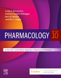 cover image - Evolve Resources for Pharmacology,10th Edition