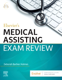 cover image - Evolve Resources for Elsevier's Medical Assisting Exam Review,6th Edition
