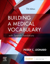 cover image - Medical Terminology Online with Elsevier Adaptive Learning for Building a Medical Vocabulary,11th Edition