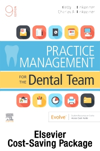 cover image - Practice Management for the Dental Team - Text and Workbook Package,9th Edition