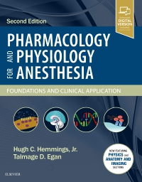 cover image - Pharmacology and Physiology for Anesthesia - Elsevier eBook on VitalSource,2nd Edition