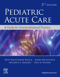 cover image - Evolve resources for Pediatric Acute Care,2nd Edition