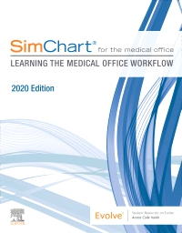 cover image - SimChart for the Medical Office: Learning the Medical Office Workflow - 2020 Edition E-Book