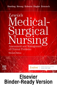 cover image - Lewis's Medical-Surgical Nursing - Binder Ready,11th Edition