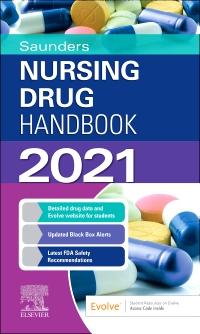 cover image - Saunders Nursing Drug Handbook 2021 Elsevier eBook on VitalSource (Retail Access Card)