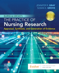 cover image - Evolve Resources for Burns and Grove's The Practice of Nursing Research,9th Edition