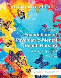 cover image - Evolve Resources for Varcarolis' Foundations of Psychiatric-Mental Health Nursing,9th Edition