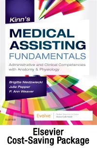 cover image - Niedzwiecki et al: Kinn's Medical Assisting Fundamentals Text and Study Guide and SimChart for the Medical Office 2020 Edition