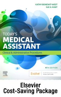 cover image - Today's Medical Assistant - Book, Study Guide, and SimChart for the Medical Office 2020 Edition Package,4th Edition