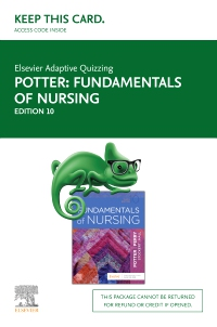 cover image - Elsevier Adaptive Quizzing for Fundamentals of Nursing (Access Card),10th Edition
