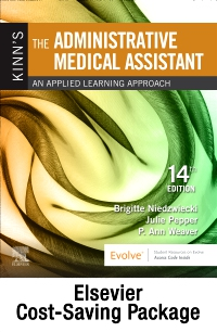 cover image - Kinn's The Administrative Medical Assistant - Text and Study Guide Package,14th Edition