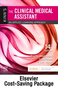 cover image - Kinn's The Clinical Medical Assistant - Text and Study Guide & Procedure Checklist Manual Package,14th Edition