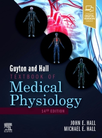 cover image - Guyton and Hall Textbook of Medical Physiology Elsevier eBook on VitalSource (Retail Access Card),14th Edition