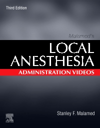 cover image - Malamed's Local Anesthesia Administration Videos,3rd Edition