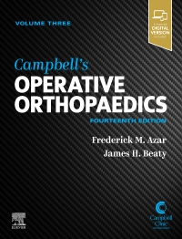 cover image - PART - Campbell's Operative Orthopaedics Volume 3,14th Edition