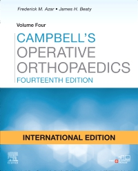 cover image - PART - Campbell's Operative Orthopaedics International Edition Volume 4,14th Edition