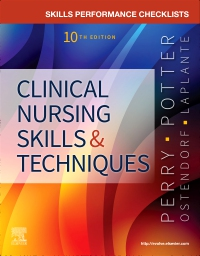 cover image - Skills Performance Checklists for Clinical Nursing Skills & Techniques,10th Edition