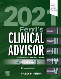 cover image - Ferri's Clinical Advisor 2021,Elsevier E-Book on VitalSource