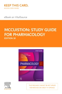 cover image - Study Guide for Pharmacology Elsevier eBook on VitalSource (Retail Access Card),10th Edition