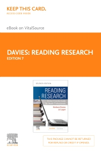 cover image - Reading Research - Elsevier eBook on VitalSource (Retail Access Card),7th Edition