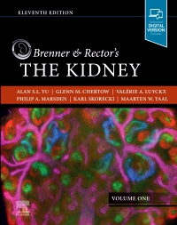 cover image - PART - Brenner and Rector's The Kidney Volume 1,11th Edition
