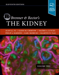 cover image - PART - Brenner and Rector's The Kidney Volume 2,11th Edition