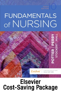 cover image - Fundamentals of Nursing - Text and Study Guide Package,10th Edition