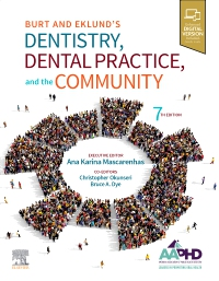cover image - Evolve resources for Burt and Eklund's Dentistry, Dental Practice, and the Community,7th Edition