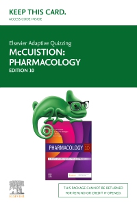 cover image - Elsevier Adaptive Quizzing for Pharmacology (Retail Access Card),10th Edition