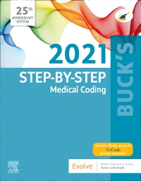 cover image - Buck's Medical Coding Online for Step-by-Step Medical Coding, 2021 Edition