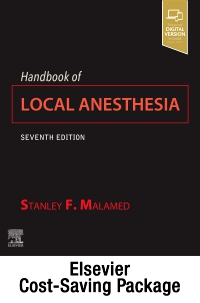 cover image - Handbook of Local Anesthesia and Videos(AC) 3e Package,7th Edition
