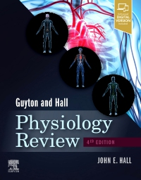 cover image - Guyton & Hall Physiology Review , Elsevier eBook on VitalSource (Retail Access Card),4th Edition